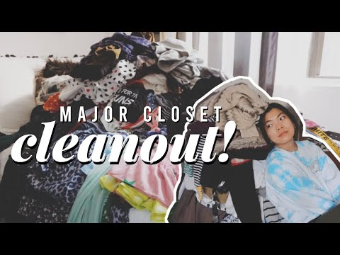 MAJOR CLOSET CLEANOUT + (Re)Organizing! | Apartment Declutter Pt. 1