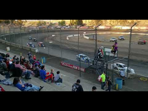 Bakersfield Speedway Bud Nationals Saturday night October 12, 2019 Modlites heat race 2
