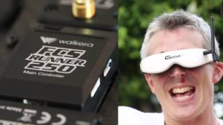 dronecyclone first official walkera runner 250 racing drone preview video