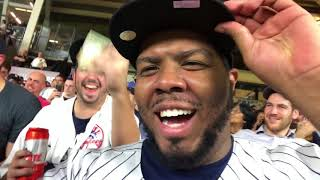 🔥YANKEE FAN REACTION: YANKEES BEAT TRIBE TO FORCE GAME 5.INDIANS VS YANKEES GAME 4(VLOG @JoezMcfly)