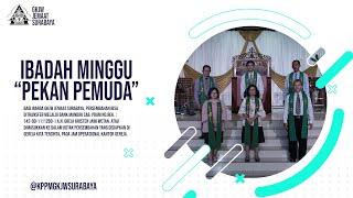 IBADAH MINGGU BERCIRI KHAS PEMUDA | 25 OKTOBER 2020 | GKJW JEMAAT SURABAYA