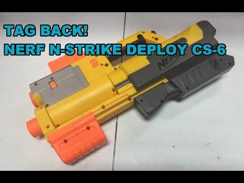 TAG BACK! - The Nerf N-Strike Deploy CS-6 | Walcom S7