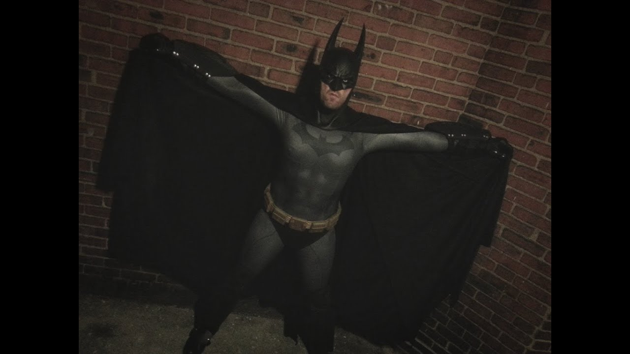 & Arkham City Batman Sub Dye Cosplay Suit - YouTube