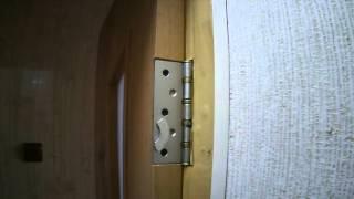 Дверные петли на неодимовых магнитах. Door hinges on niodimnyh magnets