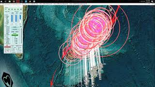 1/12/2018 -- New Deep Earthquakes = New seismic pressure  + Volcanoes hit by M5.0 activity
