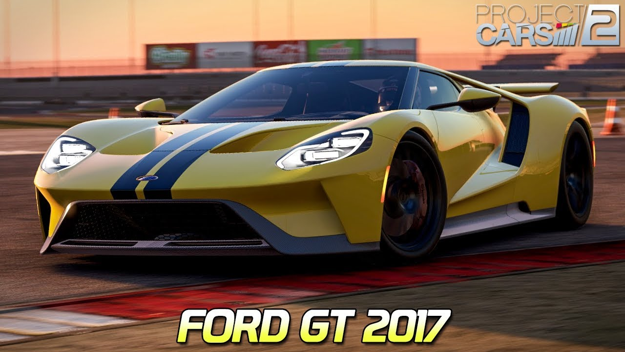 Ford Gt Project Cars  Hd Ger Texas Motor Speedway Road
