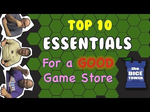 Top 10 Essentials For A Good Game Store