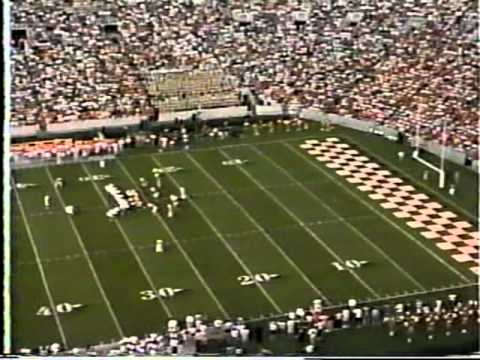 1995 ECU vs. Tennessee(John Ward & Bill Anderson - 1st Half)