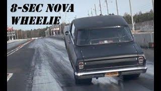 Pedaling A Wheelie & Still Going 8s! Nitrous Nova