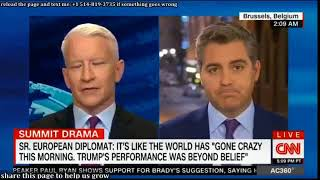Anderson Cooper 360° 07 11 2017   CNN President Trump Breaking News Today July 11, 2018