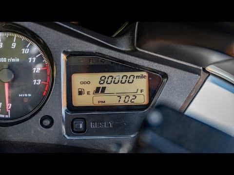The Honda VFR800 Hits 80,000 Miles!!