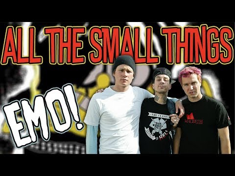 Blink 182's 'All The Small Things' As An Emo Song