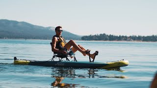Mirage iTrek 11 |  ALL-NEW Inflatable Pedal Kayak by Hobie