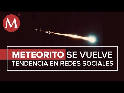 Meteorito Captado En México Seguramente Se Destruyó En El Aire: PC