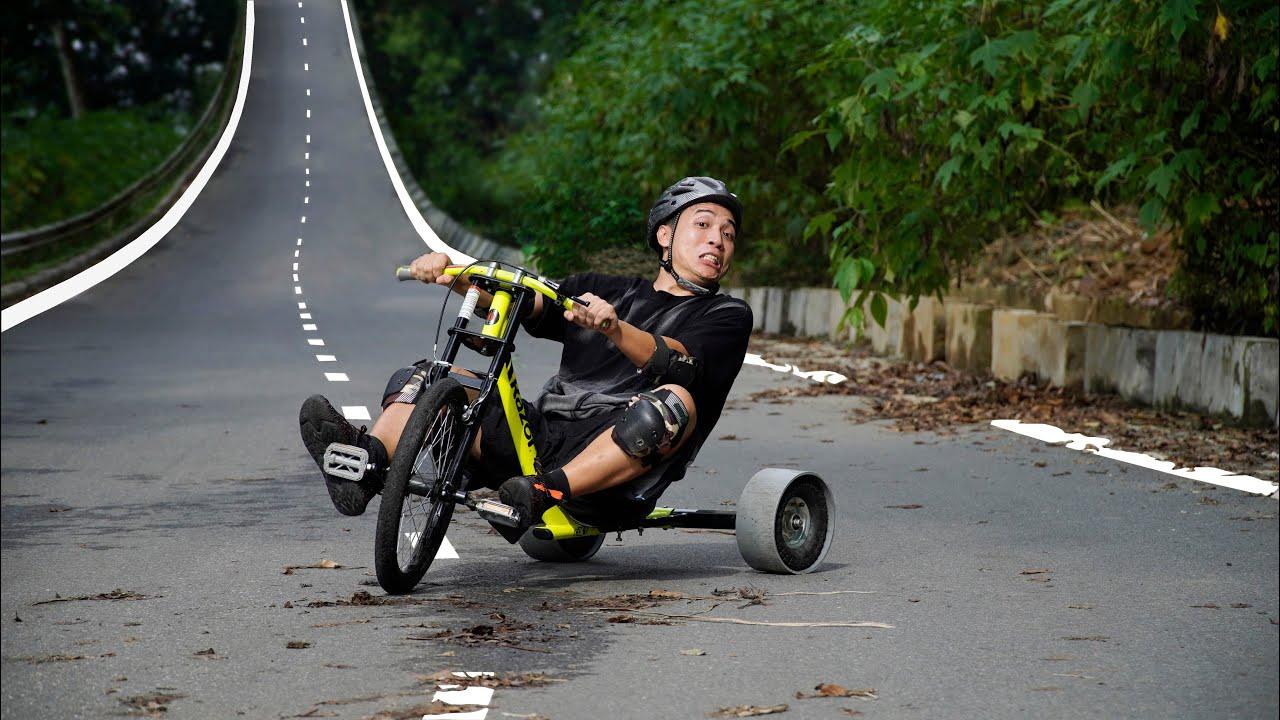 NTN - Thử Thách Mạo Hiểm Drift Xe Thả Dốc (Extreme Sports With Bicycle)