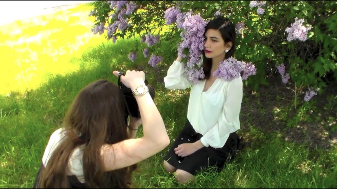 Portrait Photography Tutorial Shooting Outdoors In Natural Light PART 1 3