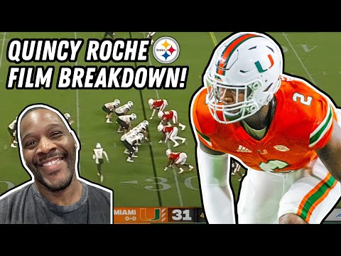 How Good Can Pittsburgh Steelers Quincy Roche Be In 2021? (Master Moats Film Session)