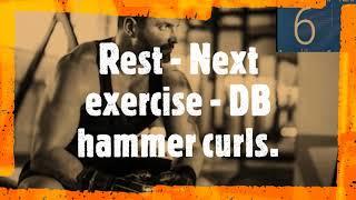 Dumbbell upperbody intermediate  101   full video 2
