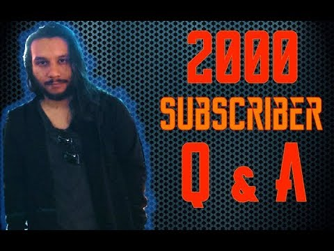 2000 Subscriber Q&A! (Are You Christian?, What is Your Youtube Setup? Best Advice?... and more)
