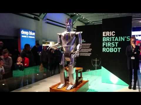Eric Britain's First Robot Raises Again at London Science Museum