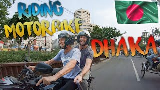 Riding a Motorbike in Bangladesh Dhaka 🇧🇩