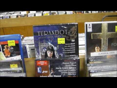 Classical DVDs and BluRays NYC @ Academy Records & CDs