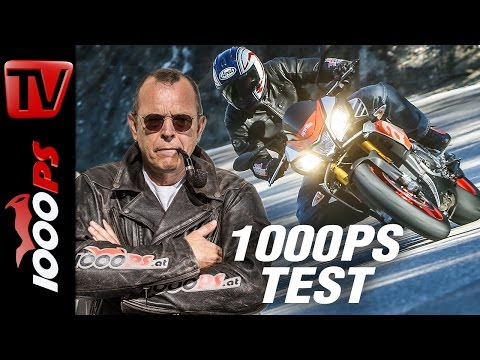 1000PS Test - Aprilia Tuono V4 1100 Factory 2017 - Die nackte Mörderrakete
