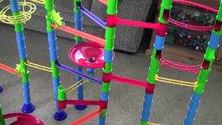Quercetti Intelligent Toys Marble Run in Action