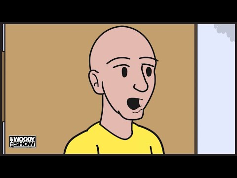 The Woody Show - Jo Koy & The Problem With Urinals | Animated podcast