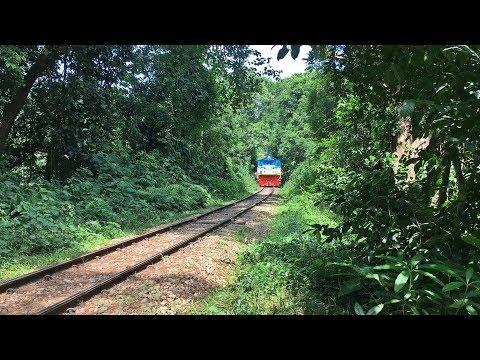 Paharika Express Passing Lawachhora Forest.