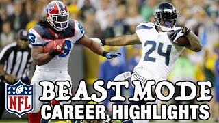 "Marshawn Lynch ""Beast Mode"" Career Highlights 