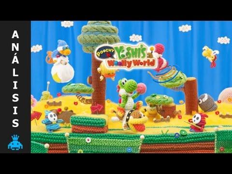 Análisis Poochy & Yoshi's Woolly World - N3DS