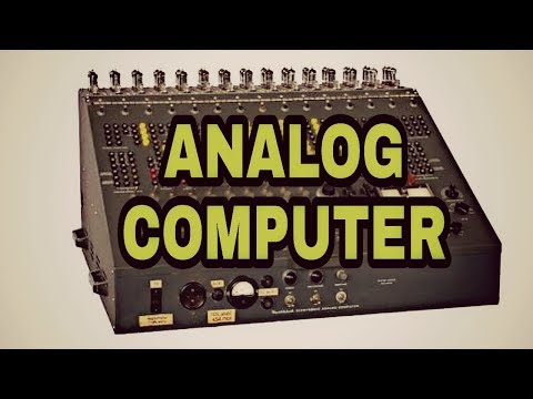 Analog computer information in hindi - YouTube