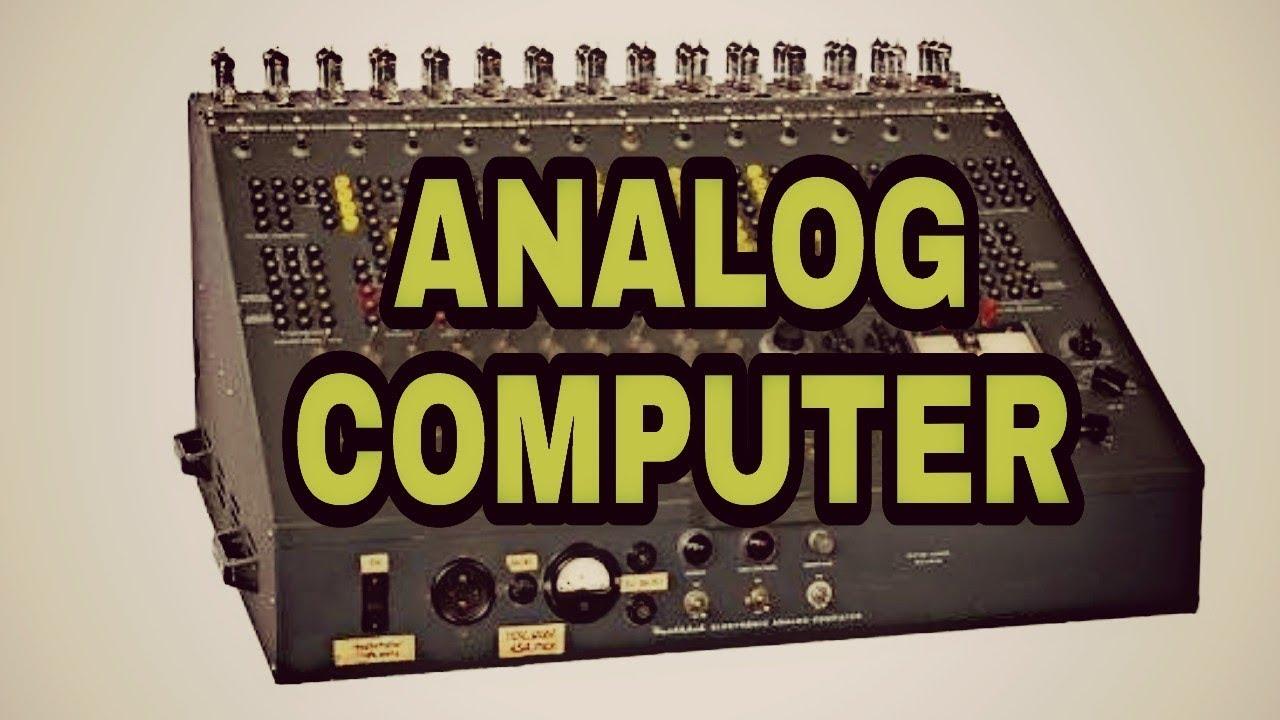 Analog computer information in hindi