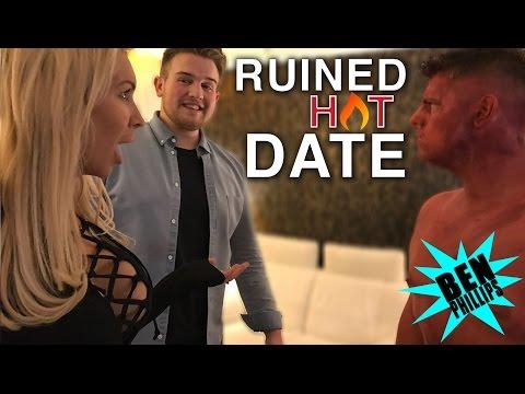 I ruined Elliot's hot date PRANK!