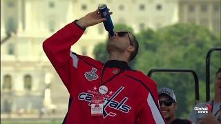 Washington Capitals hold Stanley Cup victory rally