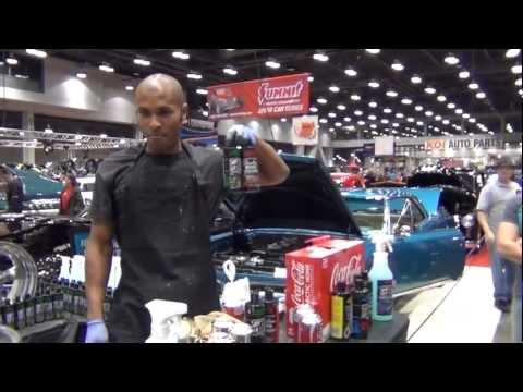 How to polish chrome rims, chrome trim, aluminum, wheels: METAL GLOSS!