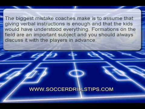 Soccer Field Diagram How To Decide Soccer Positions Youtube
