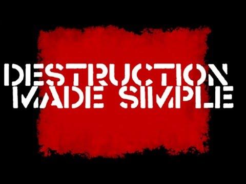 ATOMIC ECONOMIC lyric video- Destruction Made Simple