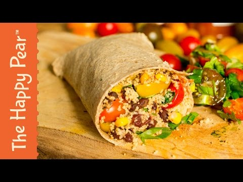 Vegan Burrito in 5 Minutes! | Happy Heart Friendly