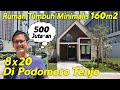 - Rumah Tumbuh Minimalis 8x20 Luas Tanah 160 m2 Harga 500 Juta di Podomoro Tenjo