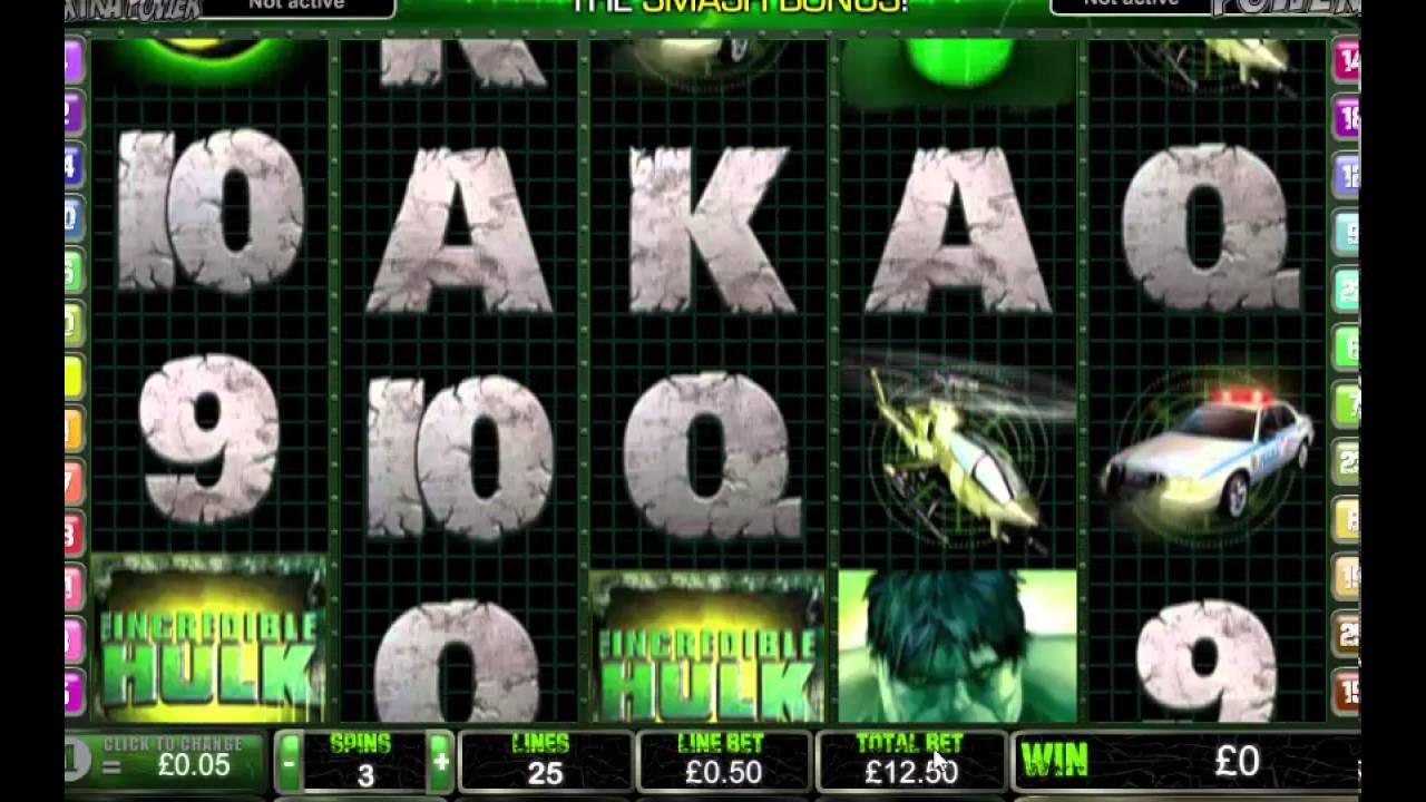 Incredible Hulk Slots