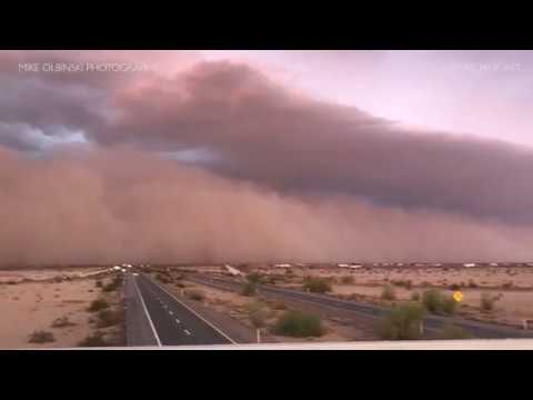July 9th, 2018 - Haboob/Dust Storm across SW Arizona