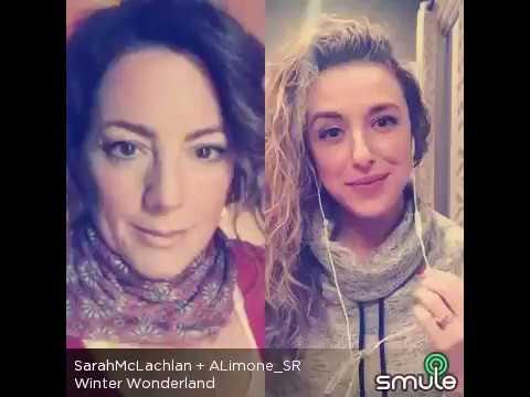 """Winter Wonderland""-Sarah McLachlan ft. Drea Frederick (smule)"