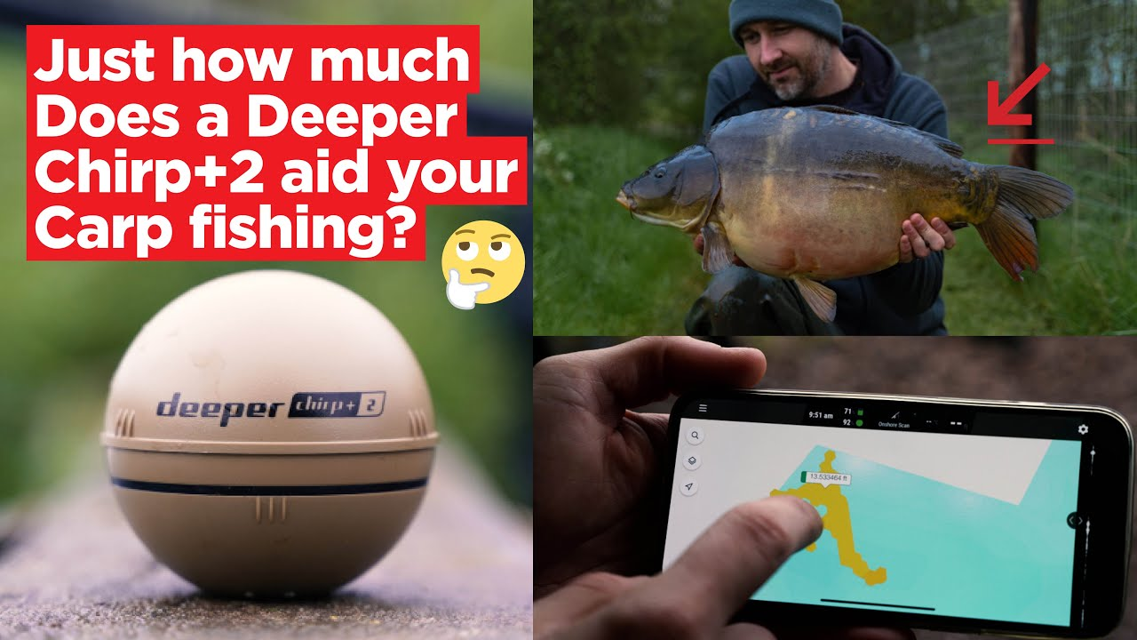 How much does the Deeper Fish Finder aid your carp fishing? Packed full of top tips and edges!