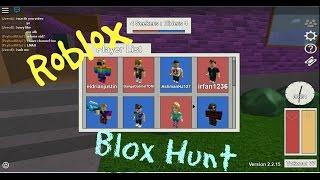 EID SUCKS AT HUNTING! Roblox : Chasse blox