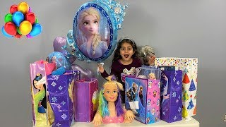 Birthday party surprise Toys opening