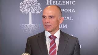 Δημήτριος Νίκας Διευθύνων Σύμβουλος Medtronic Hellas Hellenic Diaspora Medical Forum
