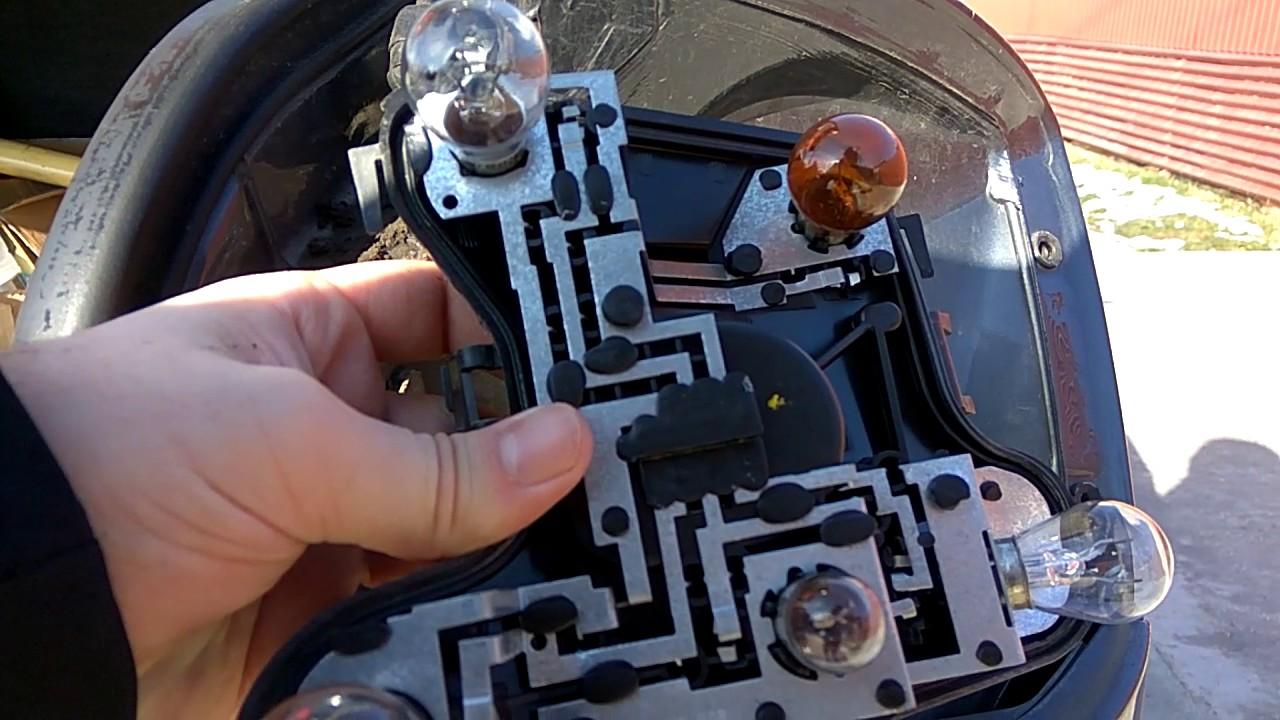 b7 a4 brake light bulb