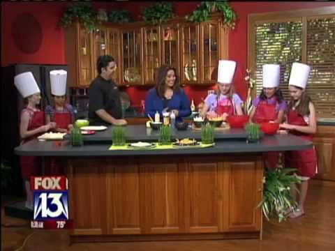 Personal Chef Cristian Feher featured on Fox 13 News Tampa Bay with Nerissa Prest